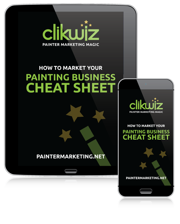 Painter Marketing Cheat Sheet