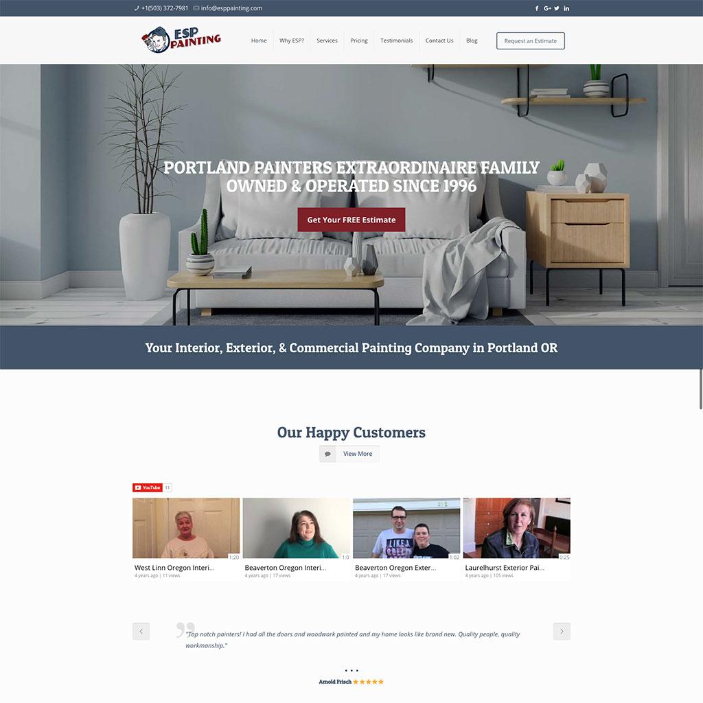 ESP Painting Website