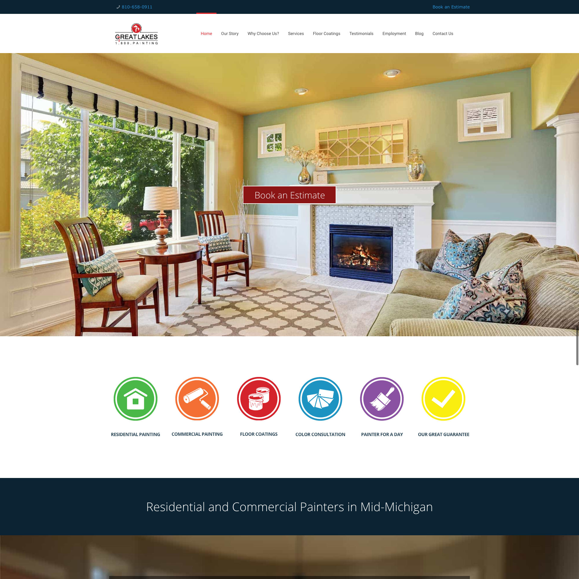 Great Lakes Painting Website